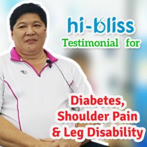 Lee SC ~ Diabetes, Shoulder Pain & Leg Disability (Video)