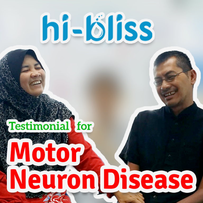 HI-BLISS TREATMENT FOR MOTOR NEURON DISEASE
