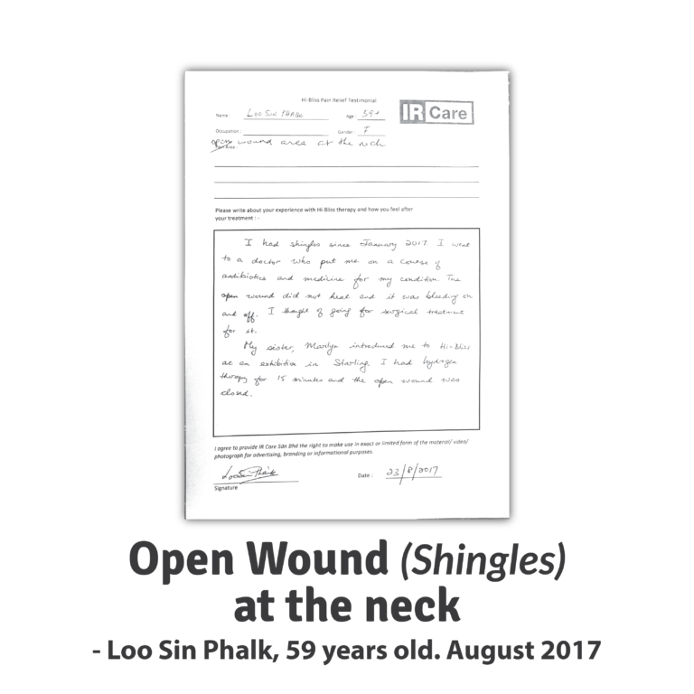 Loo SP ~ Open Wound (Shingles)
