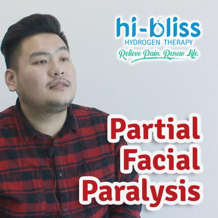 Chan Tong ~ Partial Facial Paralysis